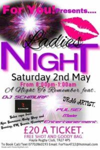 Ladies Night Hayle RFC