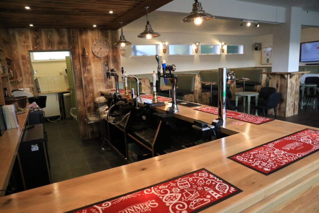 Hayle Rugby Clubhouse lounge bar