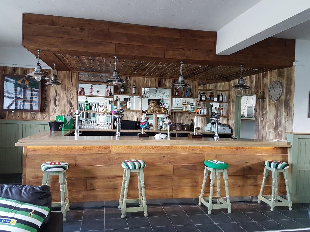 Hayle Rugby Club Lounge bar